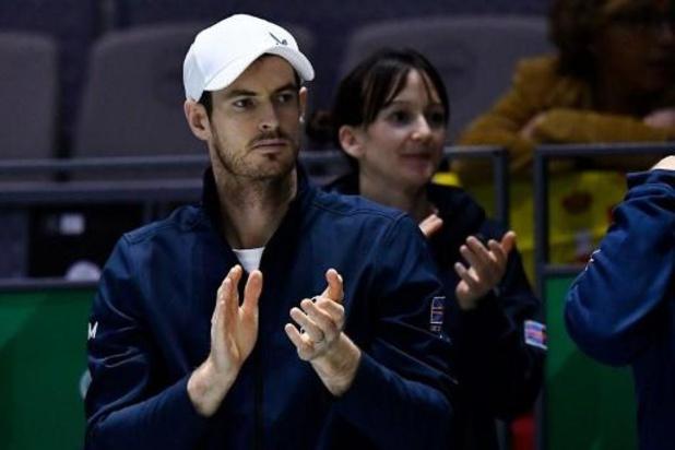 Andy Murray vindt de opslag uit zijn beste dagen terug