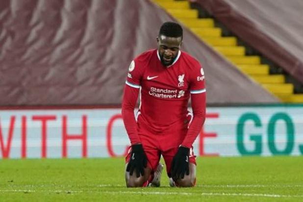 Les Belges à l'étranger - Origi, titulaire, et Liverpool, toujours muet, battus à domicile par Burnley
