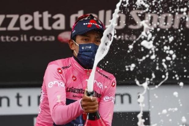 """Giro - Bernal blijft voorzichtig: """"In Giro kan alles gebeuren"""""""