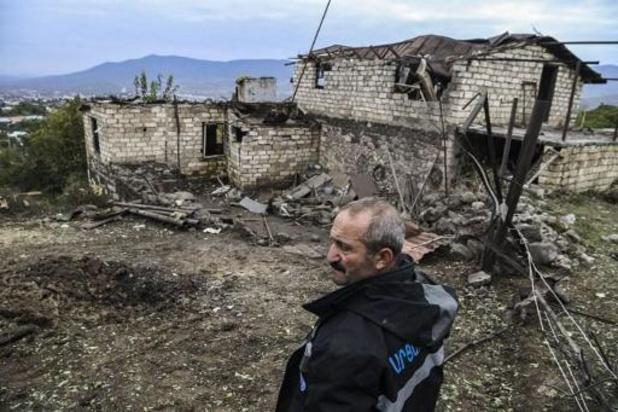 """Conflict Nagorno-Karabach - Situatie is """"rustiger"""", maar het bestand is fragiel"""