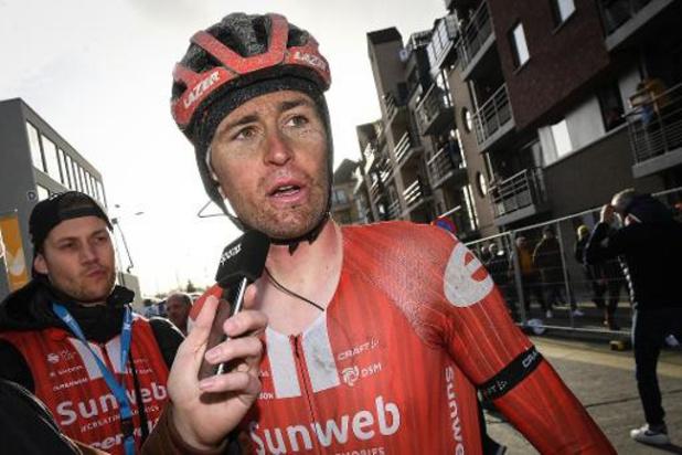Paris-Nice: Tiesj Benoot, ajouté à l'équipe Sunweb, vise un bon résultat au général