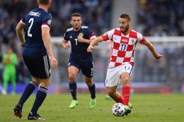 EK 2020 - Kroaat Vlasic Man van de Match na cruciale zege tegen Schotland