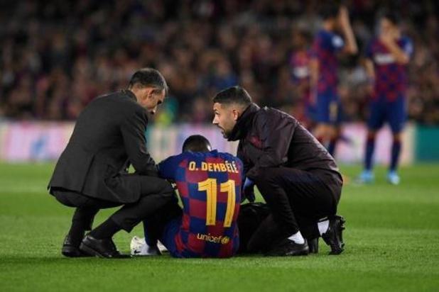 FC Barcelone: Ousmane Dembélé réapparaît, Griezmann et Lenglet sur le retour