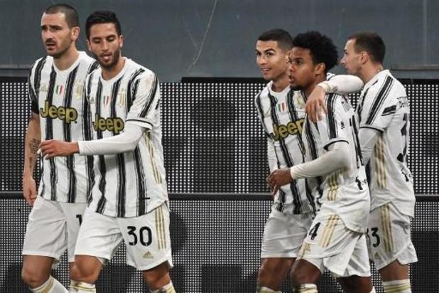 Serie A - Cristiano Ronaldo helpt Juventus aan overwinning van op de stip