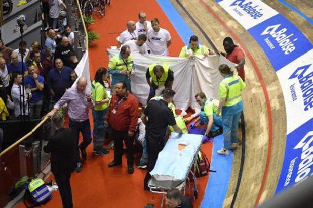Gerben Thijssen reste toujours aux soins intensifs après sa lourde chute mardi soir