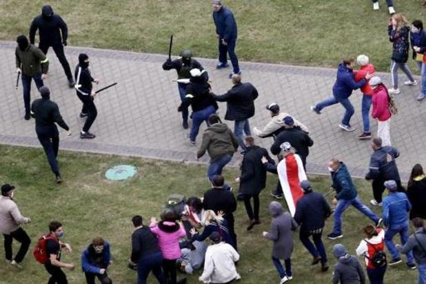 Arrestaties bij demonstratie in Minsk