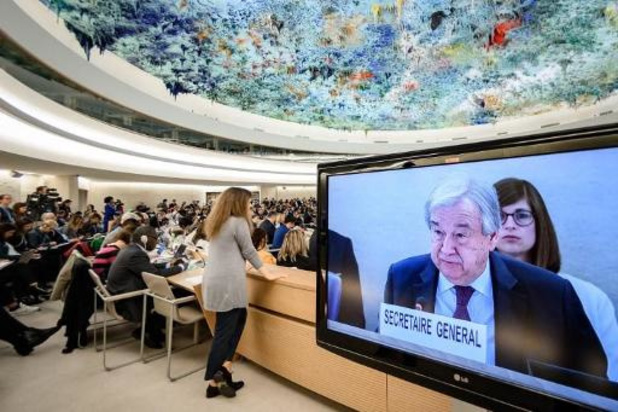 """VN-baas hekelt """"perverse politieke rekenkunde"""" ten koste van mensenrechten"""