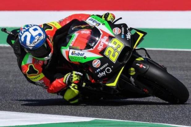 Andrea Iannone suspendu provisoirement pour dopage