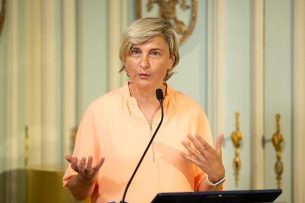 La ministre flamande de l'Economie veut inscrire la coalition miroir dans la constitution