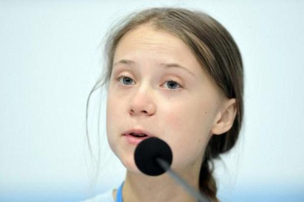 Thunberg: kinderen die nu getroffen worden door klimaatverandering moeten gehoord worden