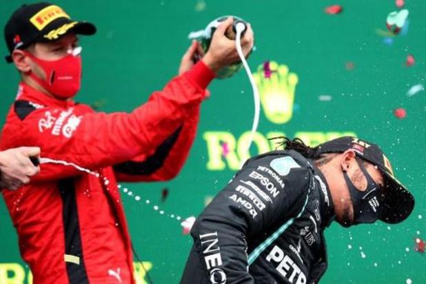 """""""Hamilton est le plus grand pilote de notre époque"""", selon Vettel"""