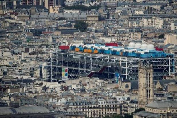 Centre Pompidou in Parijs gaat vier jaar dicht voor renovatie