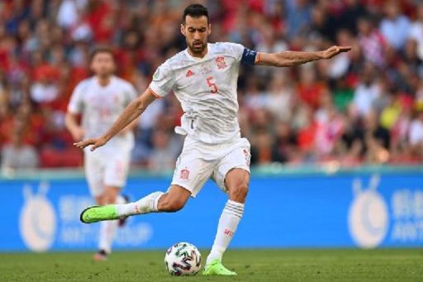 L'Espagne a souffert mais a mérité sa victoire, pense Busquets