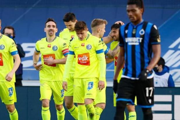 La Gantoise remporte le 'Derby des Flandres' au Club de Bruges