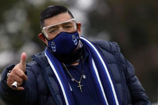 Test négatif pour Diego Maradona
