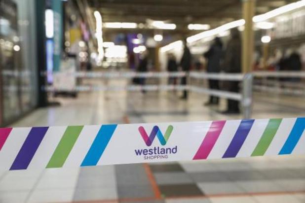 Gaslek in Anderlecht, Westland Shopping Center ontruimd