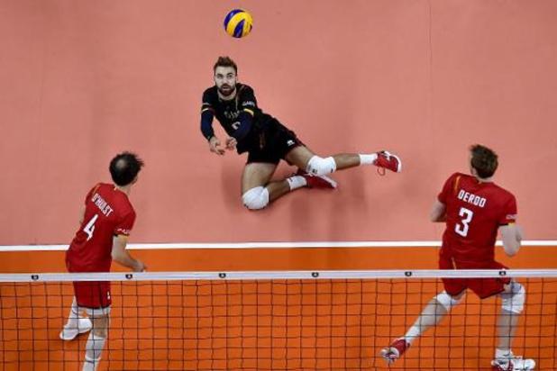EK volley (m) - Red Dragons worden tweede na 0-3 nederlaag tegen Servië