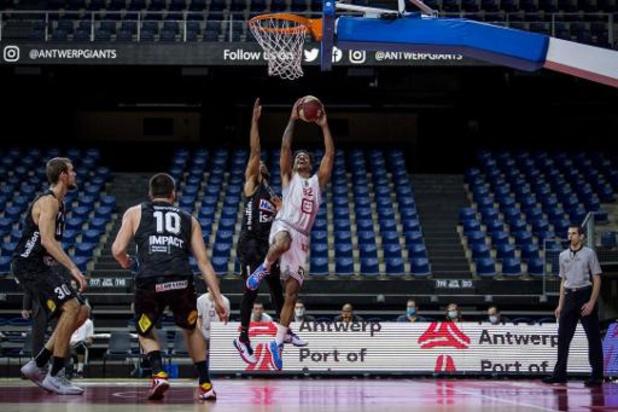 Euromillions Basket League - Anvers fait la différence dans le dernier quart-temps contre Limburg United