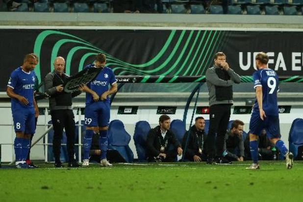 Conference League - Coach Hein Vanhaezebrouck miste toch weer wat efficiëntie bij zijn AA Gent