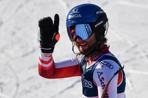 Marco Schwarz champion du monde du combiné, Armand Marchant 15e