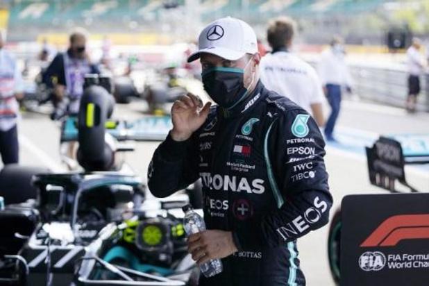 Valtteri Bottas roulera toujours pour Mercedes en 2021
