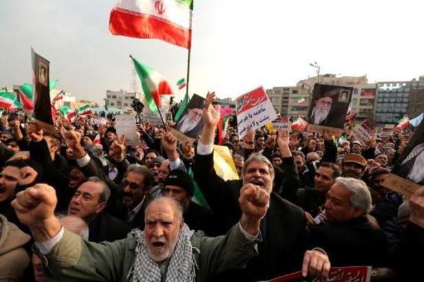 """Acht mensen """"met banden met CIA"""" gearresteerd tijdens onrust in Iran"""