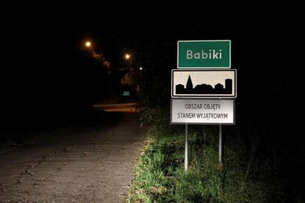 """Polen plant bouw van """"barrière"""" aan grens met Wit-Rusland"""