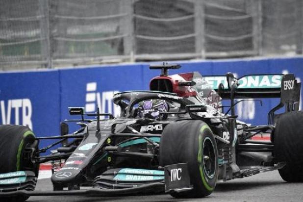 Lewis Hamilton (Mercedes), premier pilote à décrocher 100 victoires en Grand Prix