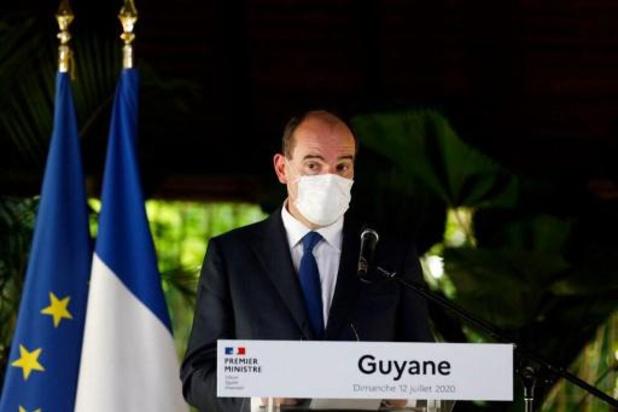 Coronavirus - Jean Castex défend l'action de l'Etat français en Guyane