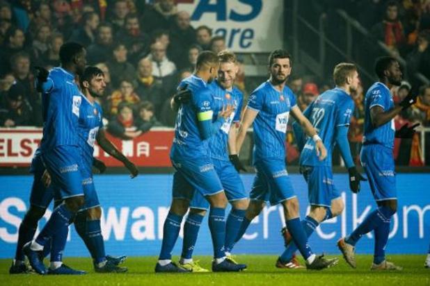 Jupiler Pro League - La Gantoise s'impose à Malines et revient à six points du Club de Bruges