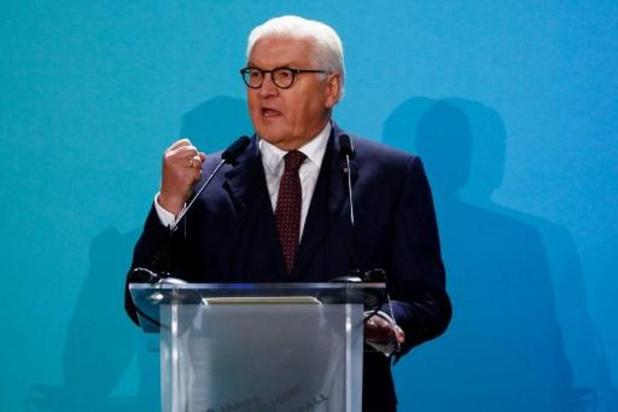 """30e anniversaire de la chute du Mur de Berlin - Le président allemand appelle l'Amérique de Trump au """"respect"""" plutôt qu'à """"l'égoïsme"""""""