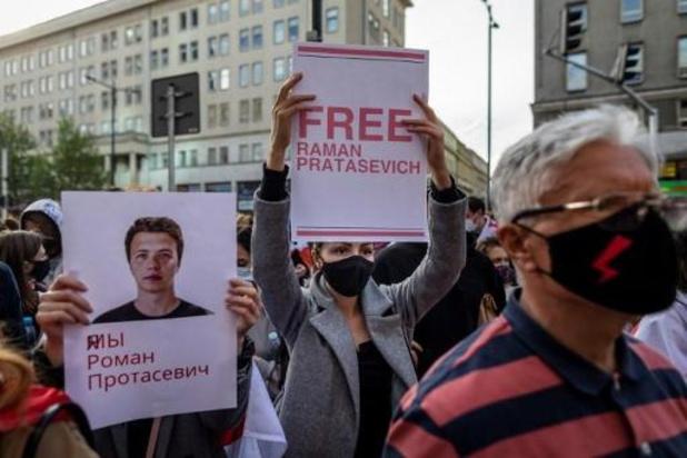 """""""Vlucht met Protasevitsj al voor bommelding omgeleid naar Minsk"""""""