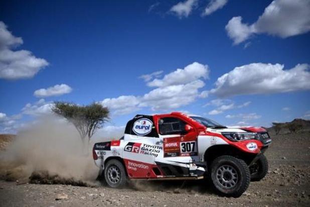 Dakar - Une bonne journée pour Tom Colsoul et Fabian Lurquin dans la catégorie des autos