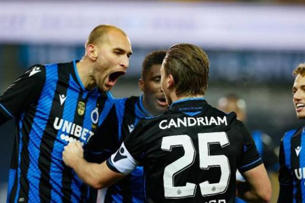 Europa League - Club Brugge en Antwerp beginnen gehavend aan zestiende finales