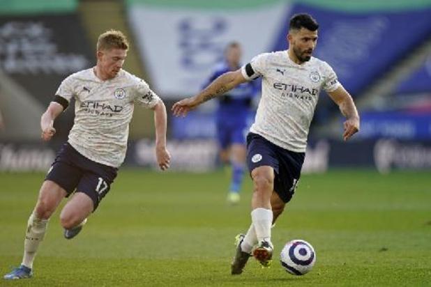 Les Belges à l'étranger - Manchester City et De Bruyne s'imposent à Leicester et s'isolent encore plus en tête