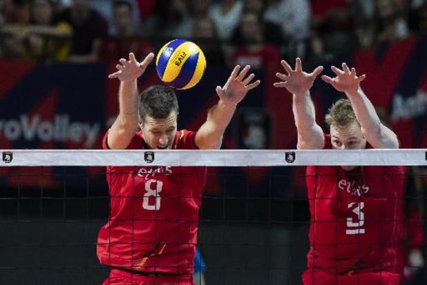 Championnat d'Europe de volley - Première victoire pour les Red Dragons, vainqueurs 3-0 de la Grèce