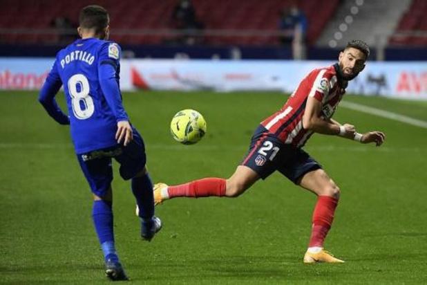 Les Belges à l'étranger - Carrasco offre à Suarez le but de la victoire pour la 500e de Diego Simeone