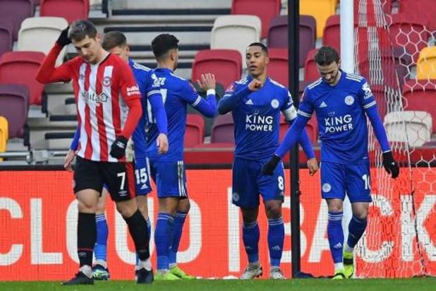 Capitaine et buteur, Tielemans se qualifie en FA Cup avec Leicester