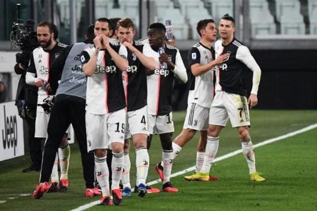 Coronavirus - Les joueurs et l'entraîneur de la Juventus réduisent aussi leur salaire