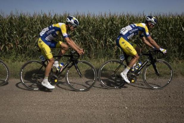Sport Vlaanderen-Baloise se retire après une éventuelle contamination par le coronavirus