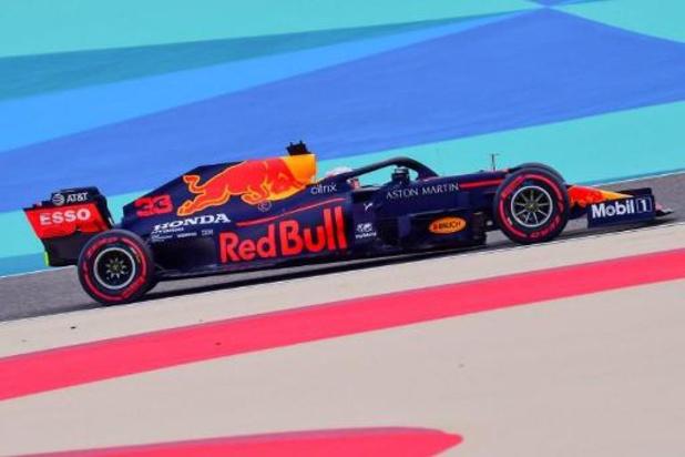 Max Verstappen devance les Mercedes pour la dernière séance d'essais libres à Bahreïn