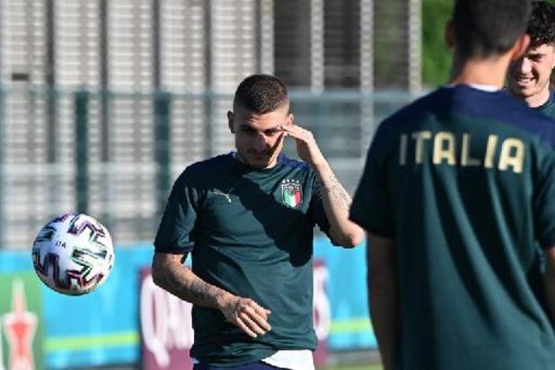 Euro 2020 - De retour de blessure, Marco Verratti débutera contre le pays de Galles