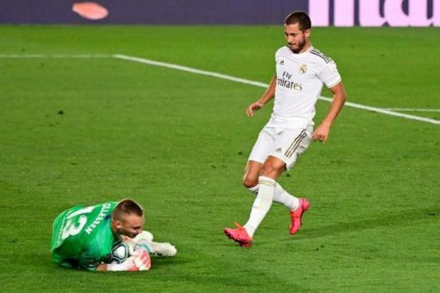 Real Madrid zonder Eden Hazard naar Bilbao