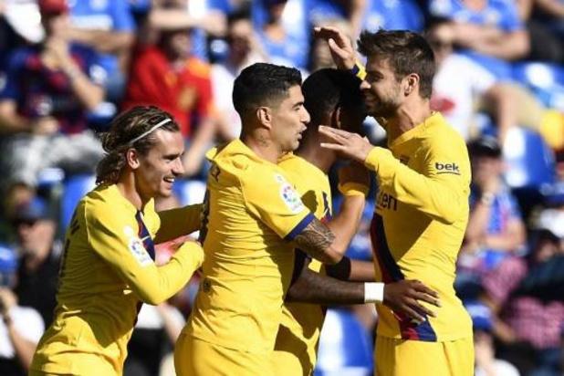 La Liga - Barcelona boekt eerste uitzege van het seizoen