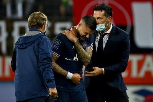 PSG is Mauro Icardi (sleutelbeen) enkele weken kwijt