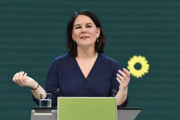 Duitse Groenen nomineren covoorzitter Annalena Baerbock als kanselierskandidaat