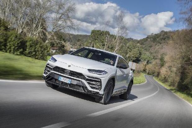 Lamborghini verkocht vorig jaar 8.205 auto's, met dank aan de Urus