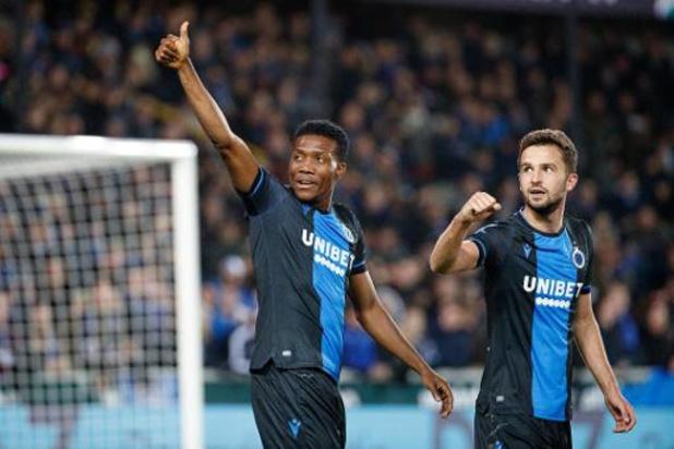 Jupiler Pro League - Le Club Bruges domine Courtrai 3-0 et décroche sa 10e victoire de la saison