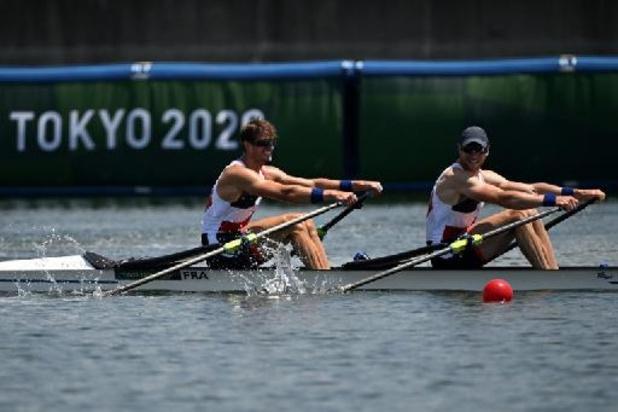 JO 2020 - Titre olympique pour la France en aviron dans le deux de couple messieurs