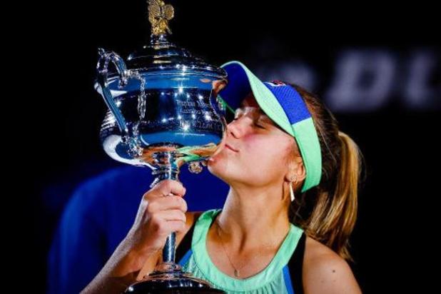 Sofia Kenin door WTA verkozen tot Tennisster van het Jaar